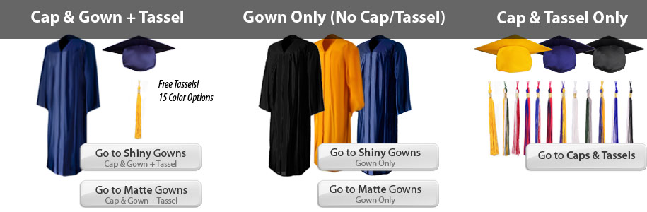Graduation Gowns and Caps