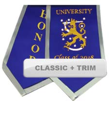 Custom Classic Stoles with Trim