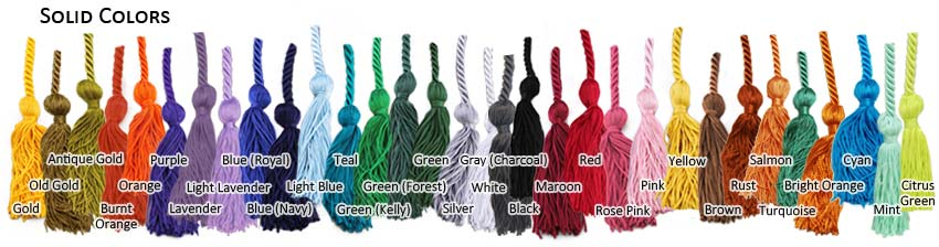 Graduation Honor Cords In Your School Colors